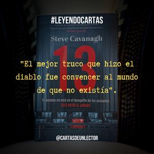 "Frase ""13"" de Steve Cavanagh"