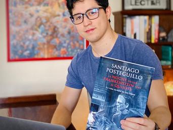 Carta: La noche en que Frankenstein leyó El Quijote de Santiago Posteguillo