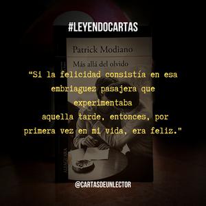 Frase Más allá del olvido libro - Cartas de un lector
