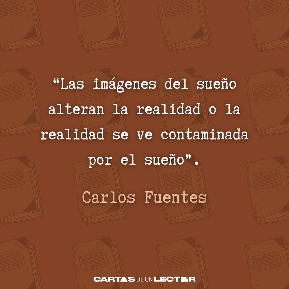 Frase/quote Aura Carlos Fuentes