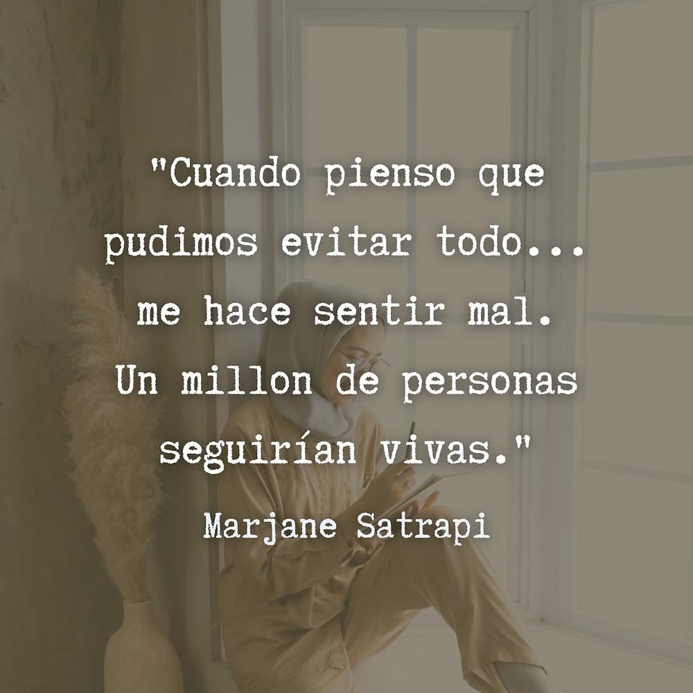 Frase / quote Persepolis Marjane Satrapi