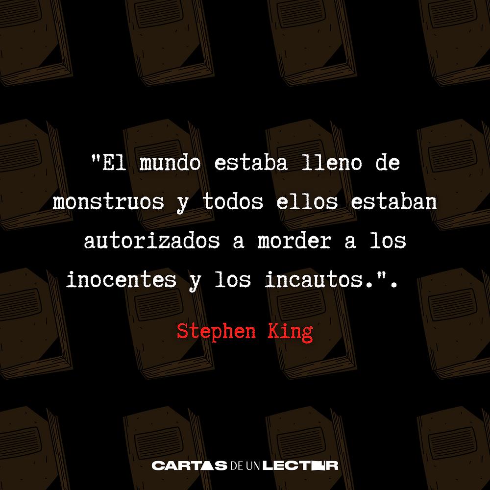 Frase/quote Cujo Stephen King