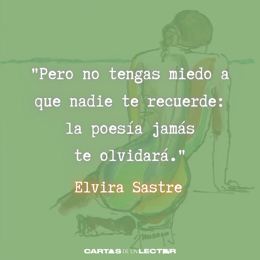 Frase/quote Baluarte Elvira Sastre