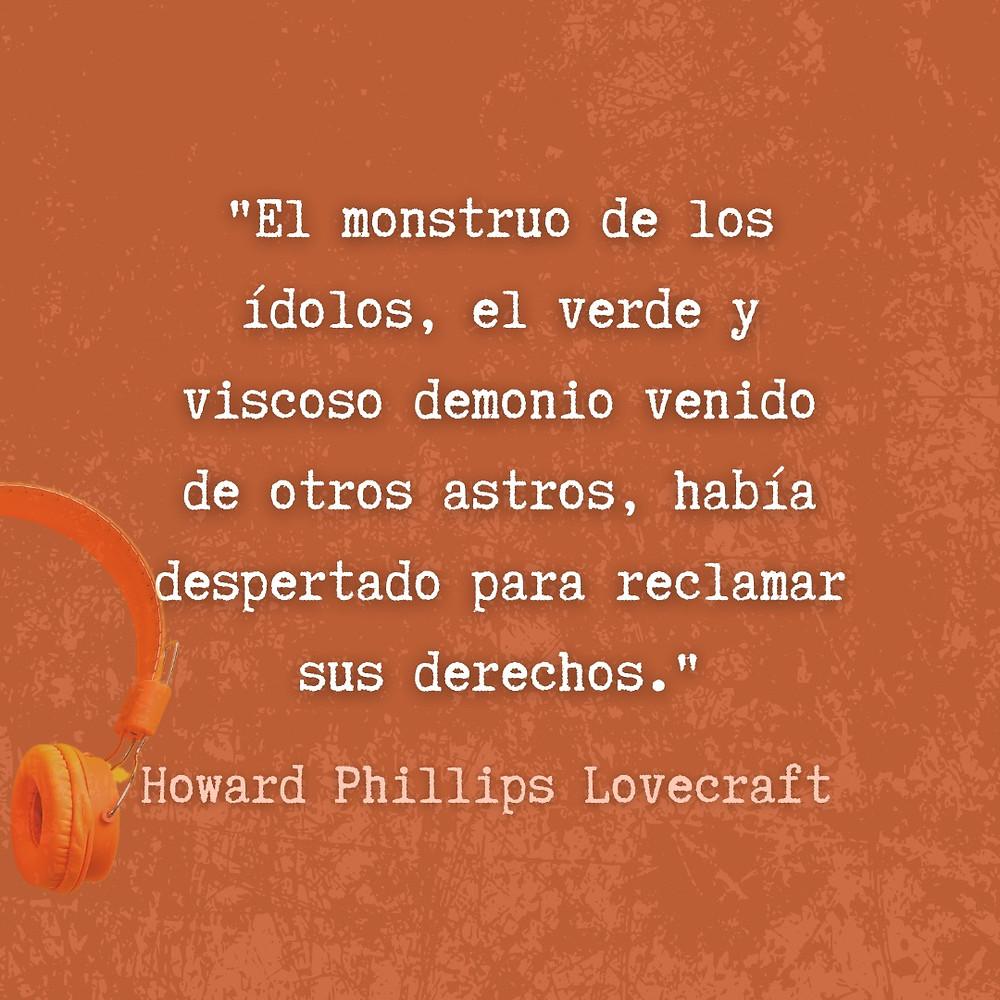 Frase / quote H.P. Lovecraft Cuentos de Lovecraft