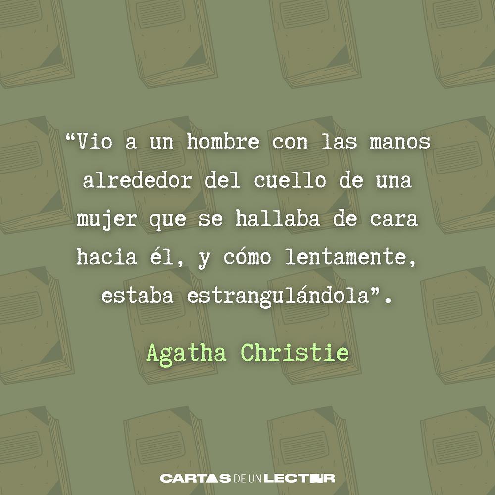 Frase/quote El tren de las 4.50 Agatha Christie