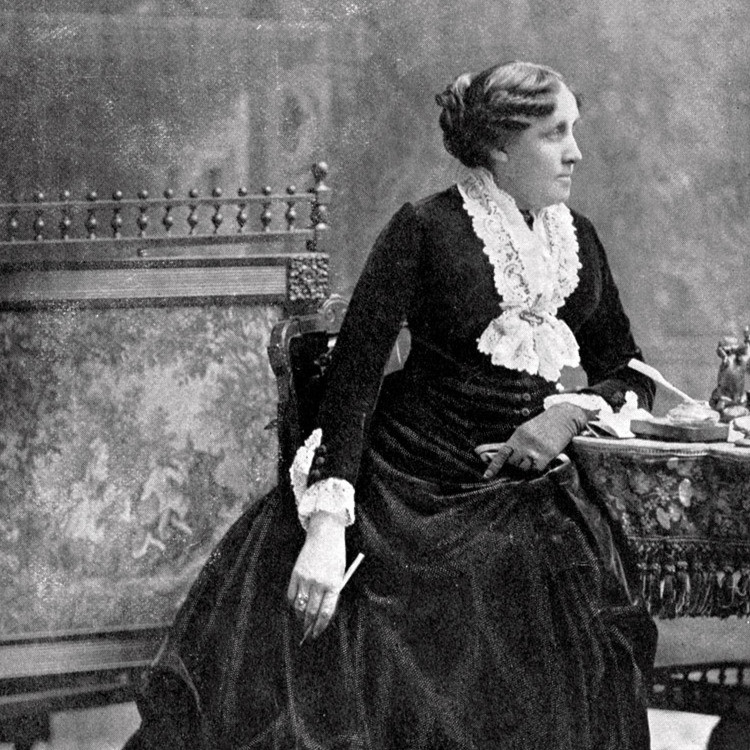 Louisa May Alcott foto