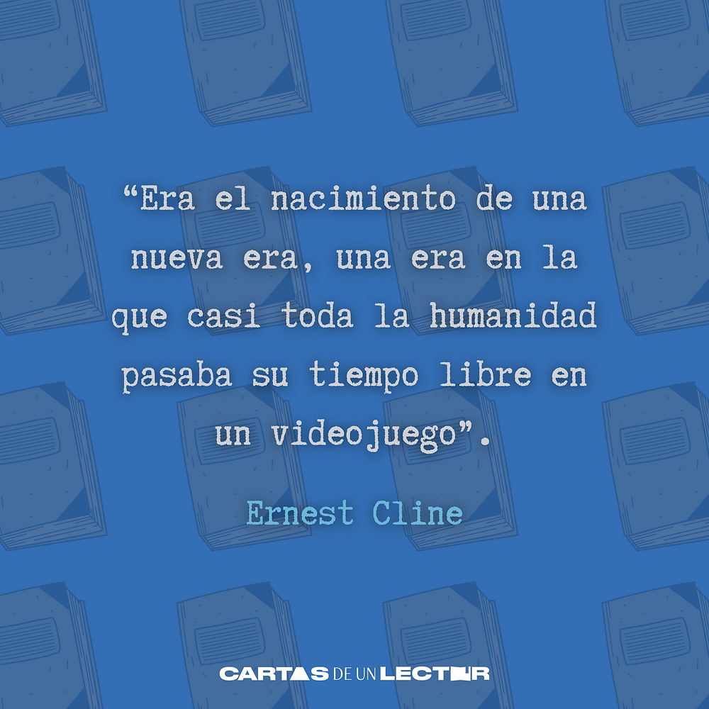 Frase/quote Ready Player One Ernest Cline