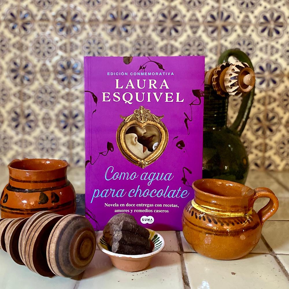 Como agua para chocolate Laura Esquivel Portada