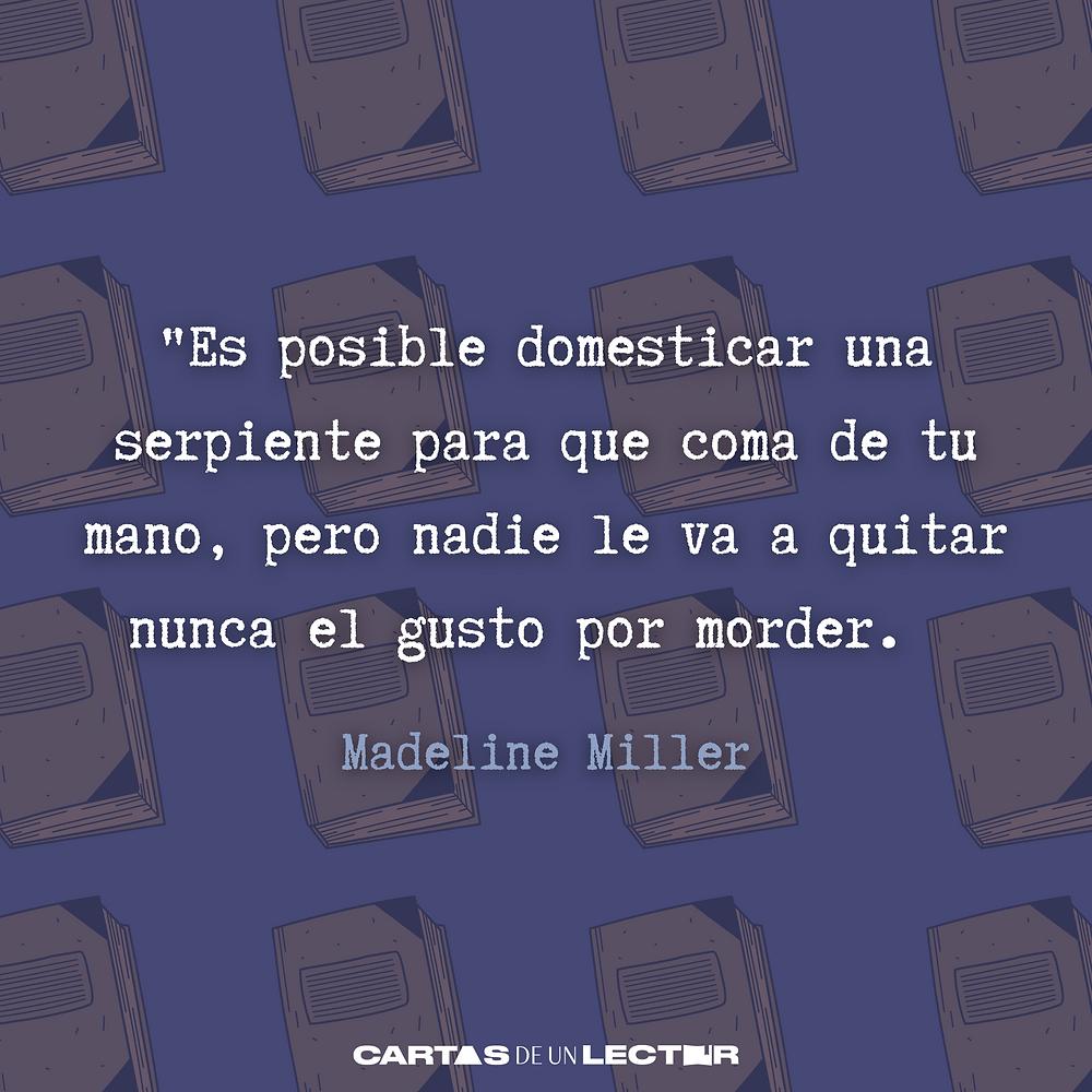 Frase/quote Circe Madeline Miller