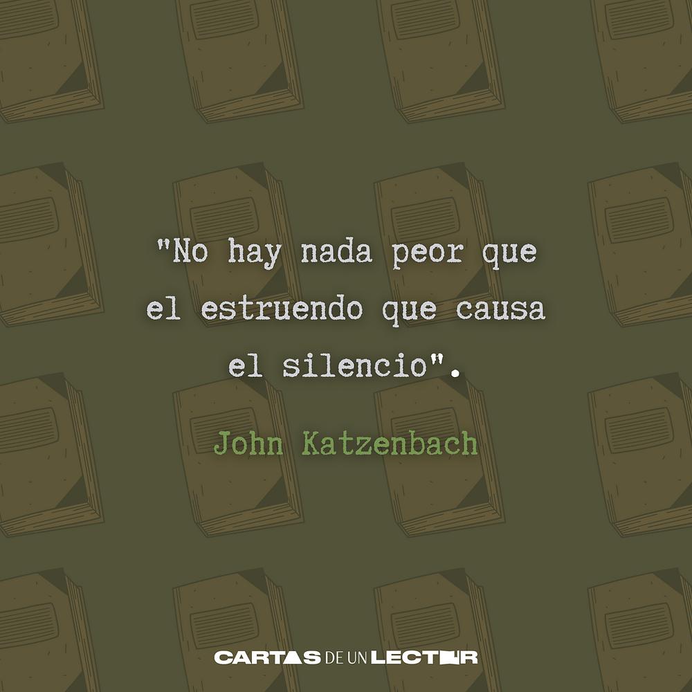 Frase/quote Un final perfecto John Katzenbach