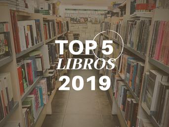 Mi top 5 libros del 2019