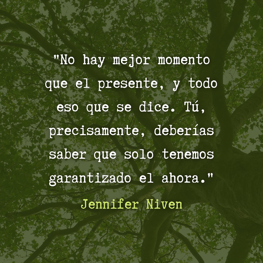 Frase / quote All the bright places Jennifer Niven