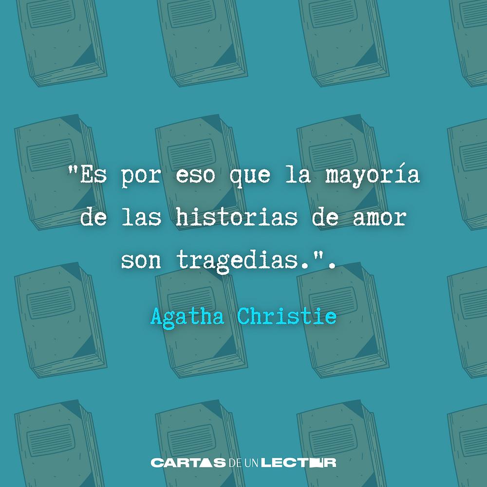 Frase/quote Muerte en el Nilo Agatha Christie