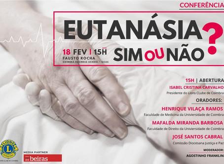 Coimbra - Encontro - Eutanásia