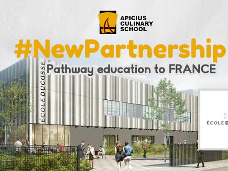 École Ducasse: New Partner School of Apicius Culinary Arts
