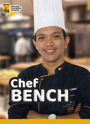 Chef Bench Ezekiel Adagao
