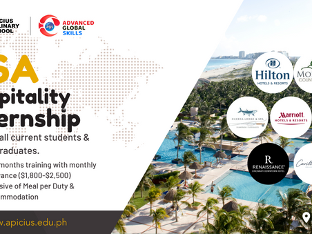 Urgent: Hospitality Internship in the USA - for 5-Star Hotels