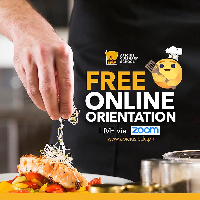 FREE ONLINE ORIENTATION