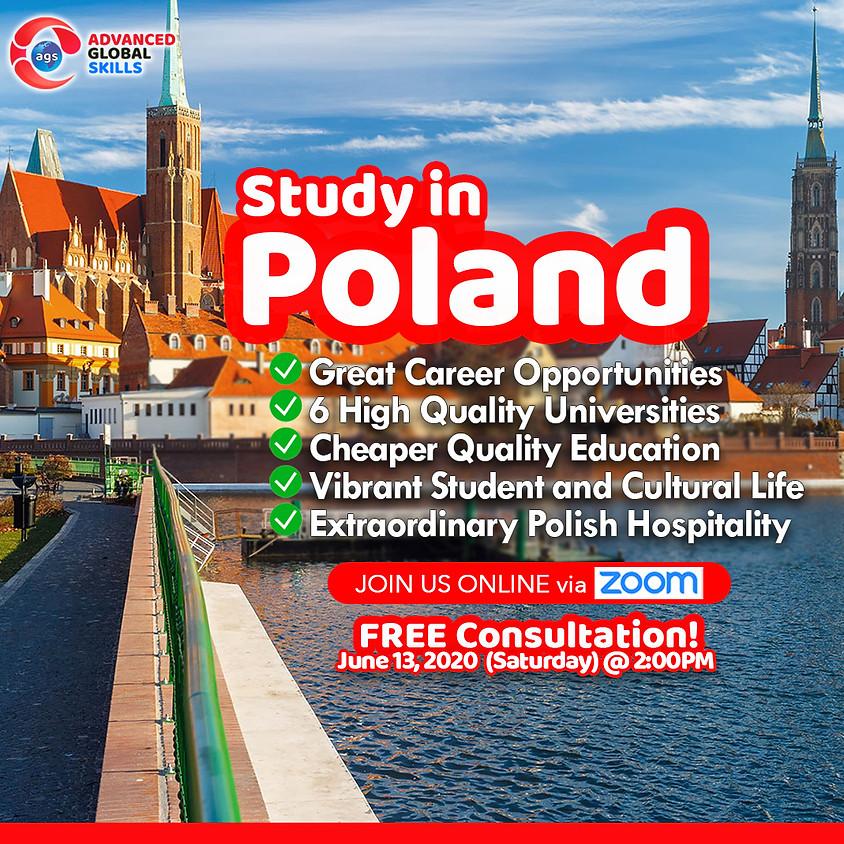 Study in Poland - FREE Orientation