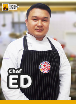 Chef Ed Lawrence Agustin