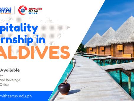 Hospitality Internship In Maldives