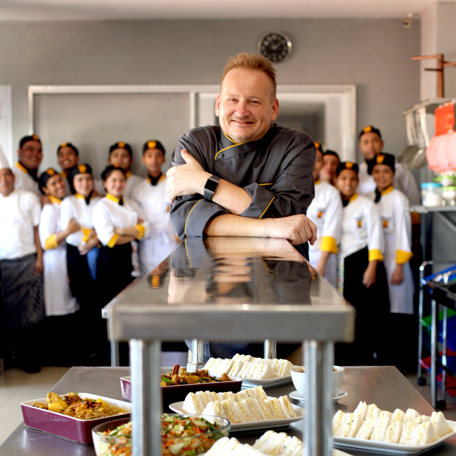 INTERNATIONAL DIPLOMA in PROFESSIONAL COOKERY LEVEL-3 (Under CTH UK Program)