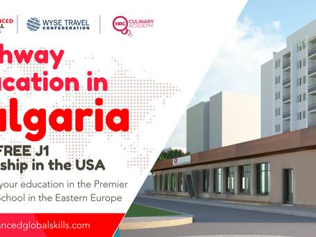 Pathway Education in BULGARIA with FREE USA Internship