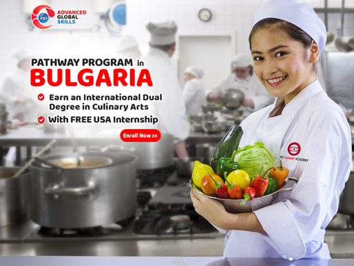 URGENT: PATHWAY PROGRAM in BULGARIA with FREE USA Internship