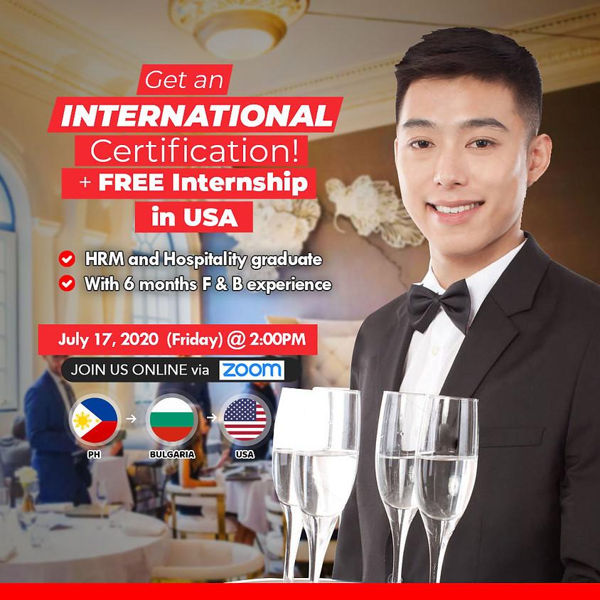 Free Online Orientation: Study in Bulgaria + Free Internship in USA