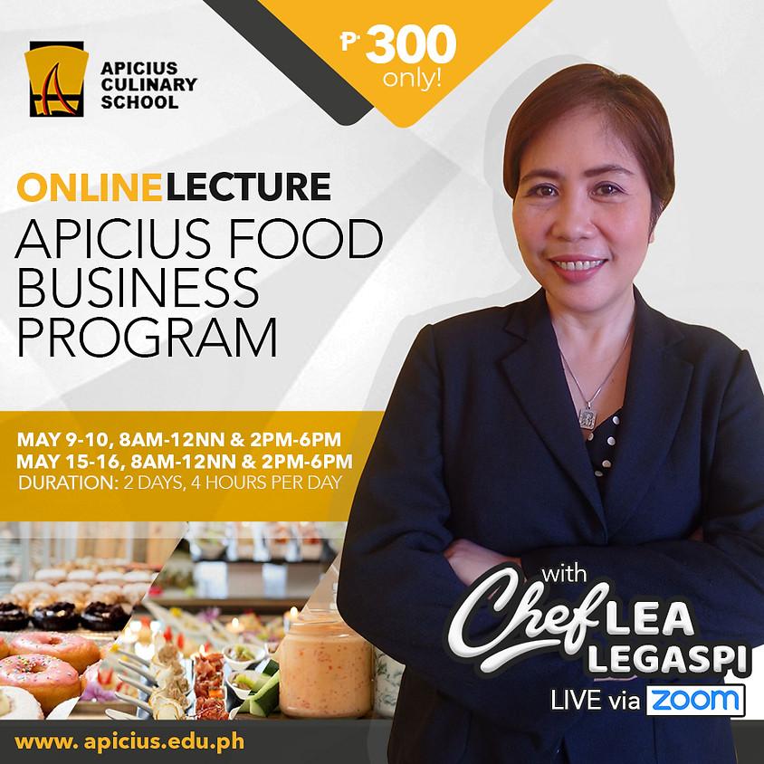 Apicius Food Business Program