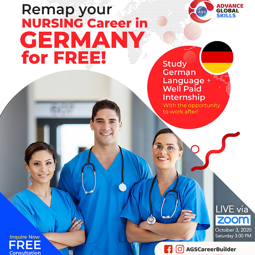 Study Nursing in Germany: Free Webinar and Free Consultation