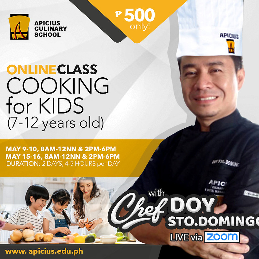 Cooking for Kids (7-12 years Old)
