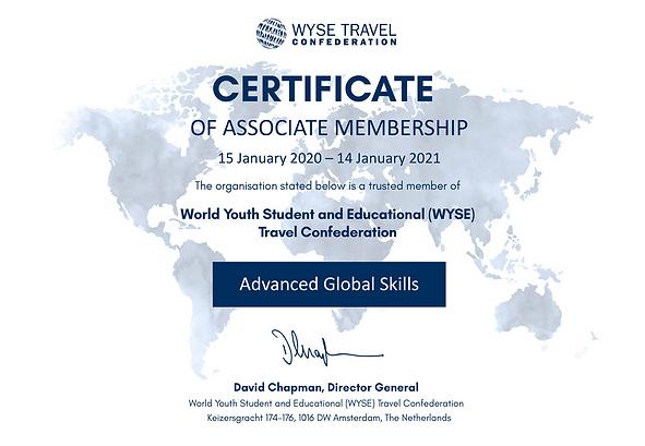WYSE_Membership_Certificate_Advanced_Glo
