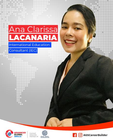 Ana Clarisa Lacanaria
