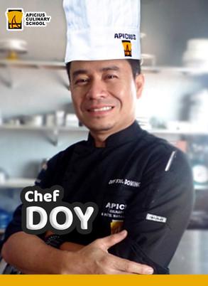 Chef  Doy Sto. Domingo
