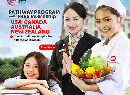 Pathway Program : Study with Free Internship at USA, CANADA, AUSTRALIA and NEW ZEALAND