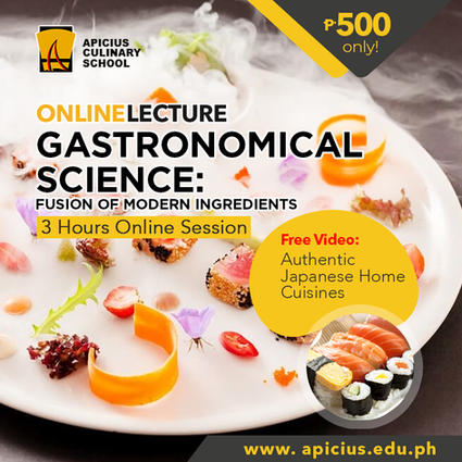 Gastronomical Science: Fusion of Modern Ingredients