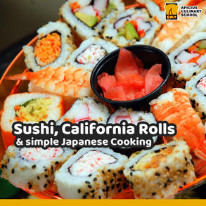Sushi, California Rolls and simple Japan Cooking
