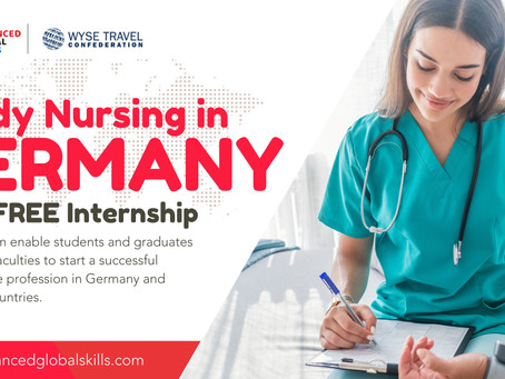 Study Nursing in Germany with Free Internship