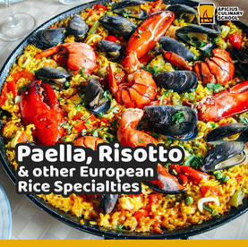 Paella, Risotto and other European Rice
