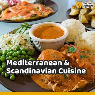 Mediterranean and Scandinavian Cuisine