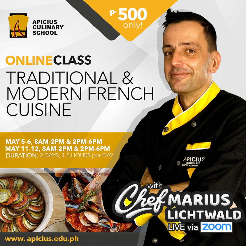 Traditional and Modern French Cuisine