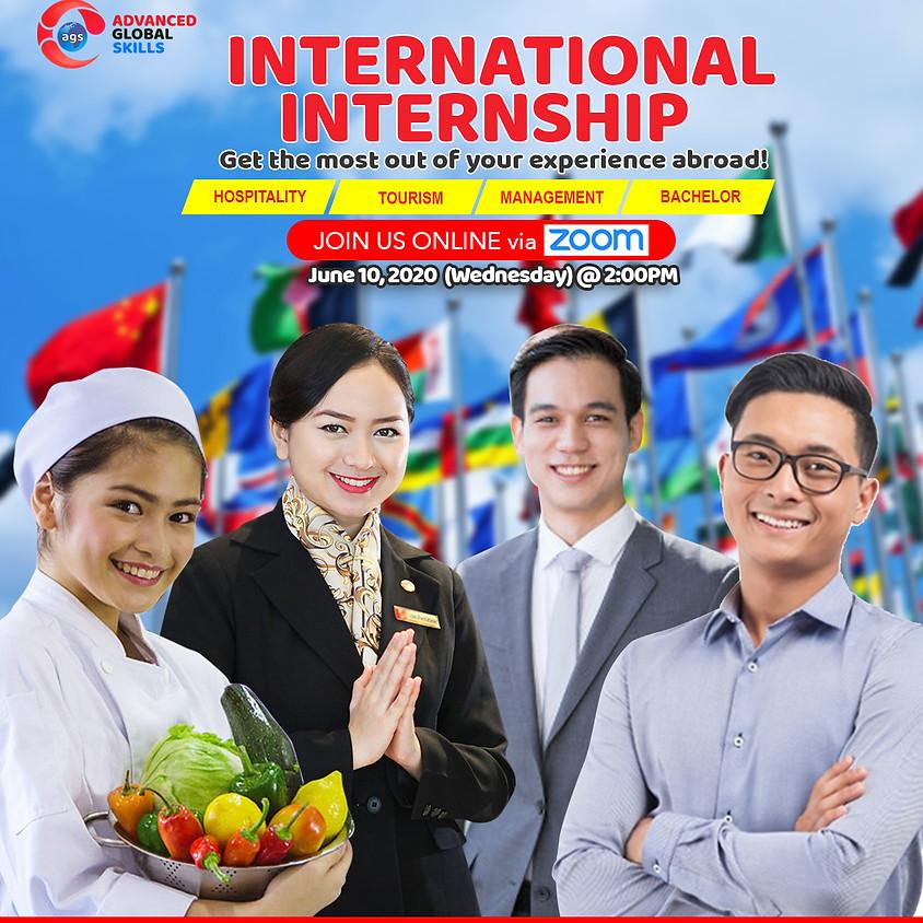 International Internship - FREE Online orientation