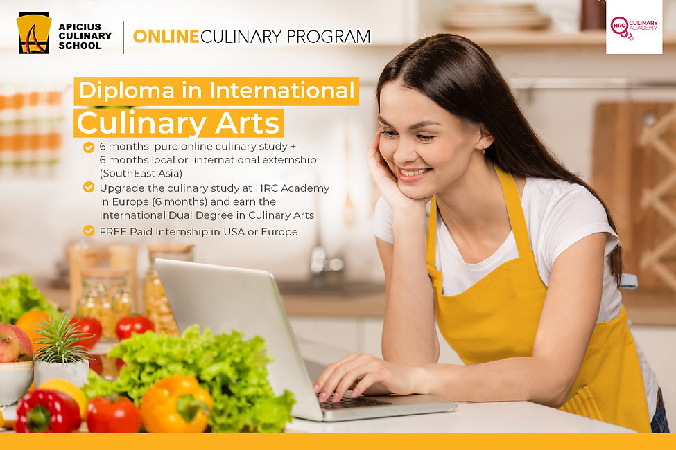 Diploma in International Culinary Arts.j