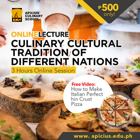 Culinary Cultural Tradition of Different Nations