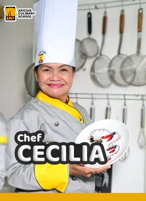 Chef Maria Cecilia Pascual