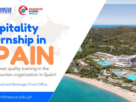 Hospitality Internship Opportunity in Spain