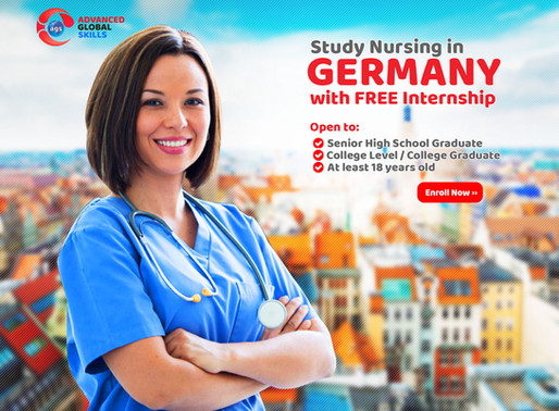 Study in Germany with Free Internship