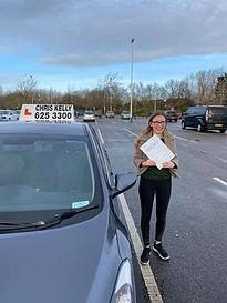 Congratulations to Georgia Davies on pas