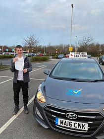 Congratulations Liam Wallace on passing